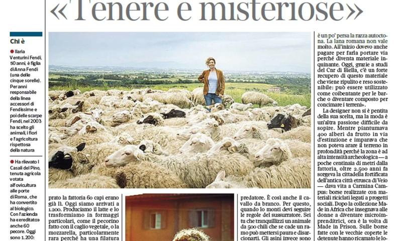 Il Corriere della Sera – August 3, 2016