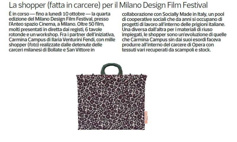 Il Corriere della Sera  October 8 2016