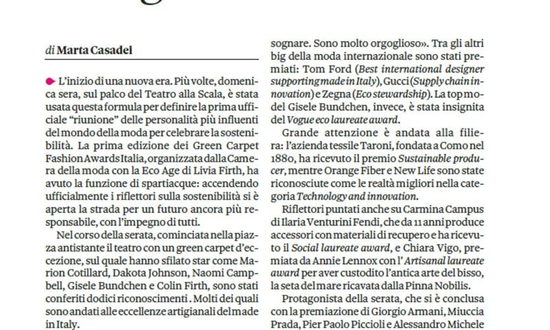 Il Sole24ore September 26, 2917