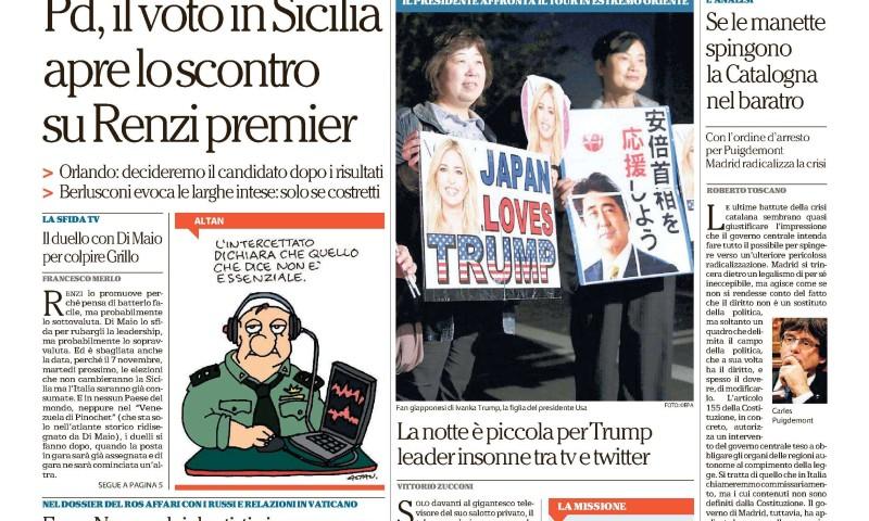 La Repubblica – November 4 2017