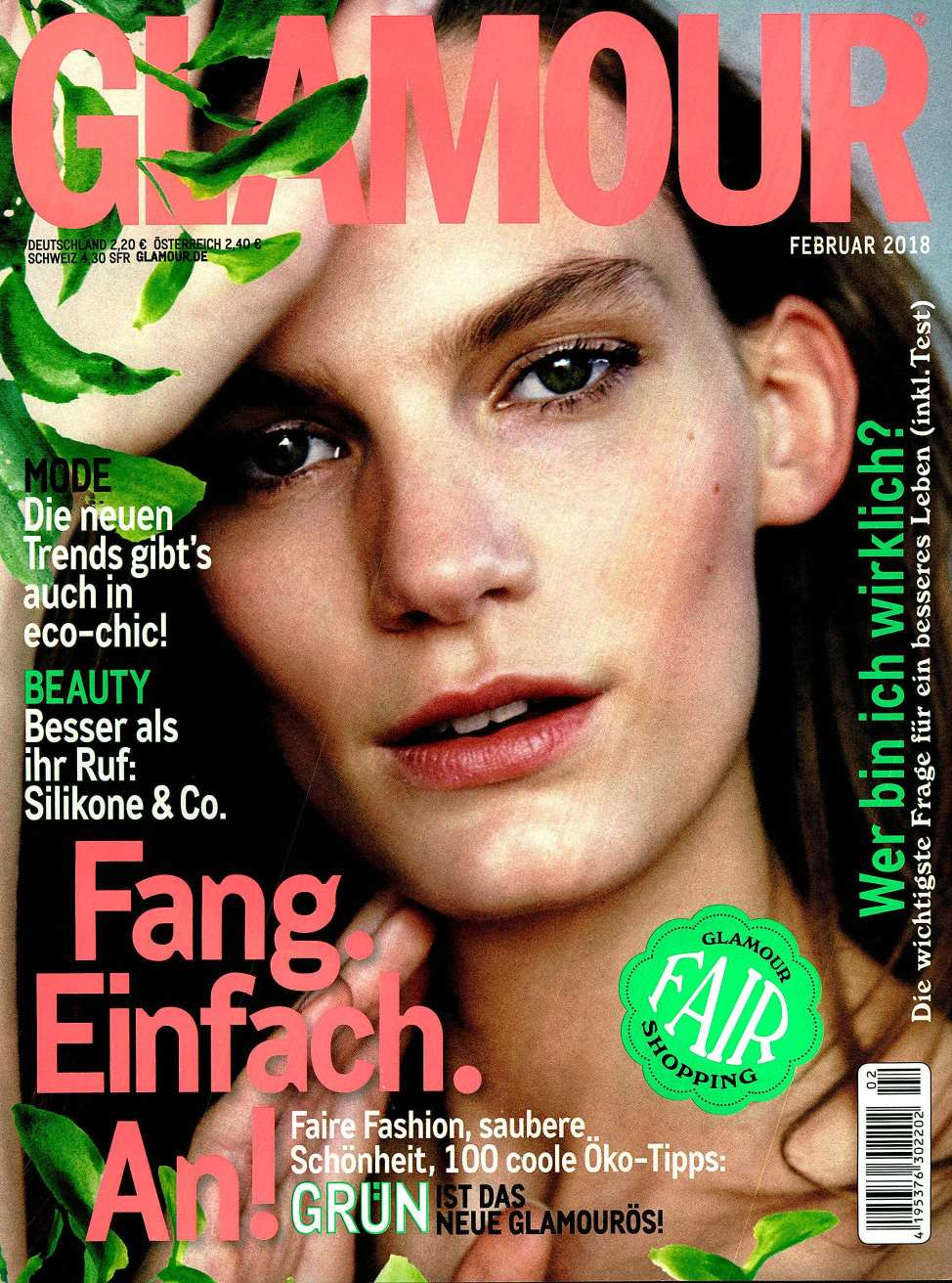 Glamour Germany February 2018 Carmina Campus